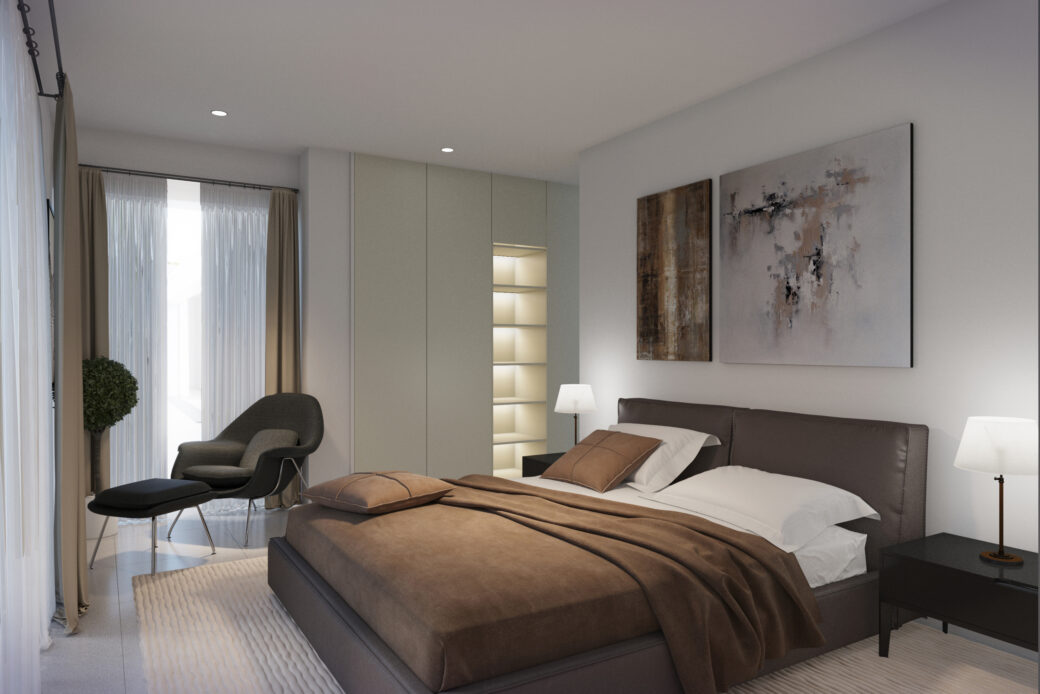 2. Master bedroom