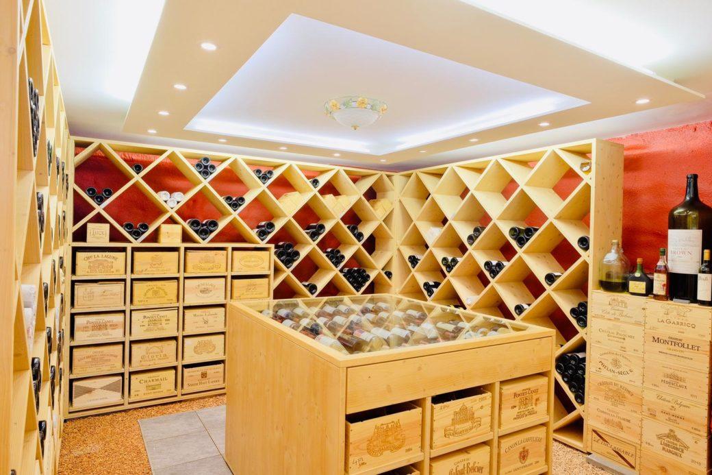 Piano inferiore – Cantina dei vini