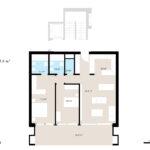 Planimetria appartamento con sup